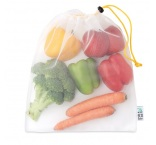 MB9102 - Mesh recycled-PET grocery bag. Min 250 pcs