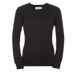 717F.03.0 - Russell•LADIES CREW NECK KNITTED PULLOVER