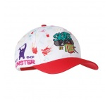 MH2316 - All over printed, 5 panel polyester cap. Min 150 pcs