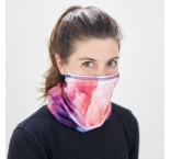 ML3023 - Polyester Multiscarf with inside pocket for a filter or disposable mask. Add the optional antibacterial treatment (silver ions). Min 100 pcs